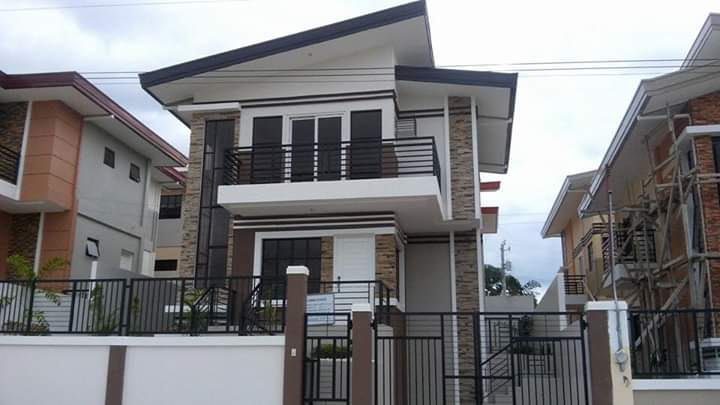 Ilumina Estate house model#88 by Santos Land - Brand New House and Lot property in Davao City