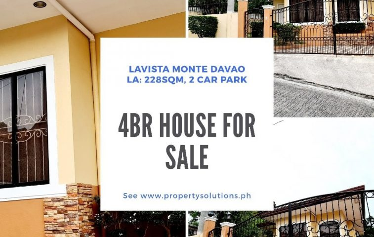 #RealEstates #OnSale #RushSale  #House and Lot in Davao City  La Vista Monte Mat… -  property in Davao City