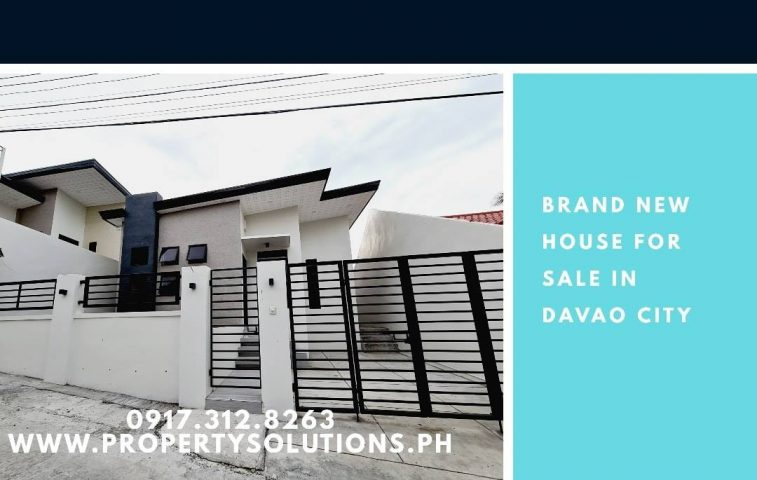 Remedios Heights  Cabantian  120 sq lot area  64 sq floor area  3br  2tb  -Modul… -  property in Davao City