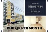 #Studio Unit #Condo for #Rental #8spatial, Maa Davao City.  Brand New, Never bee… -  property in Davao City