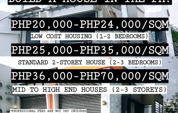 How much does it cost to build a house in the Philippines?  #HowmuchPH #architec… -  property in Davao City